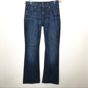 7 for all Mankind Kimmie Bootcut Jeans Made USA